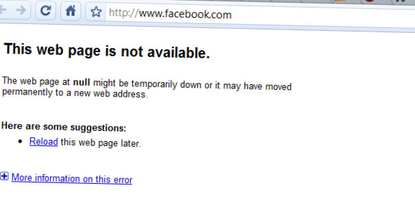 facebook down in china